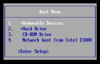 boot da usb senza bios