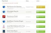 aggiornamento plugin browser