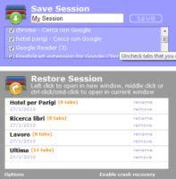 salvare sessioni internet