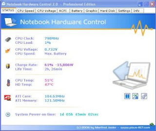 notebook hardware control