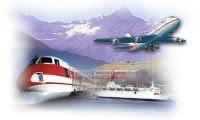 viaggiare in treno, aereo e macchina