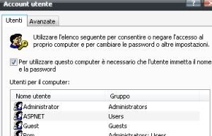 autologon su Windows