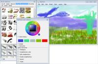 programma di disegno e pittura