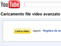 caricare video su Youtube