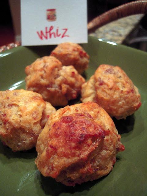 Cheese Whiz Sausage Balls