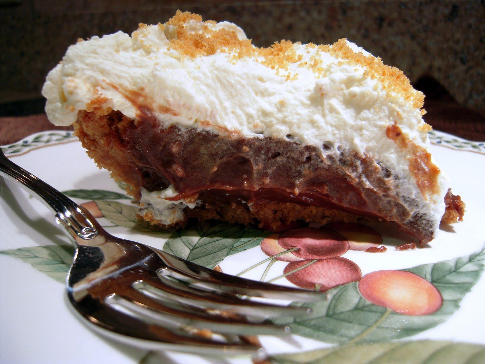 Nutter Butter Chocolate Cream Pie - Plain Chicken