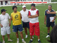 Presentacion de Claudio Marrupe como tecnico del Club Atletico Jorge Newbery