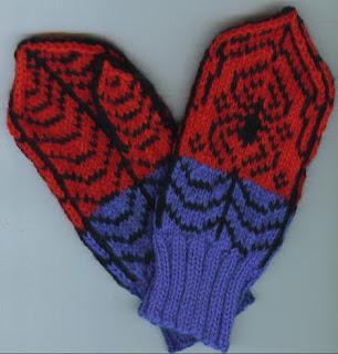 Childrens Lit n Knit: Spiderman