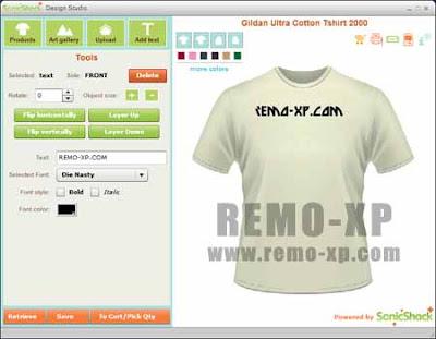 Aplikasi Untuk Mendesain Baju   Desktop T-Shirt Creator Free