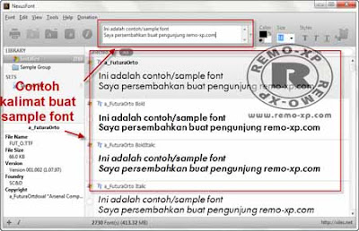 Ingin Bikin Font Sendiri? Download Nexus Font Manager Free