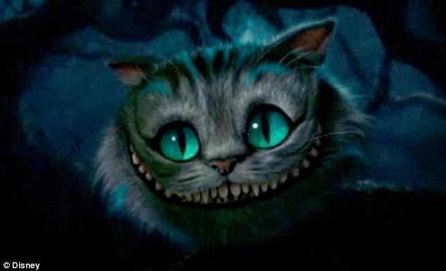 looooove the Cheshire cat!