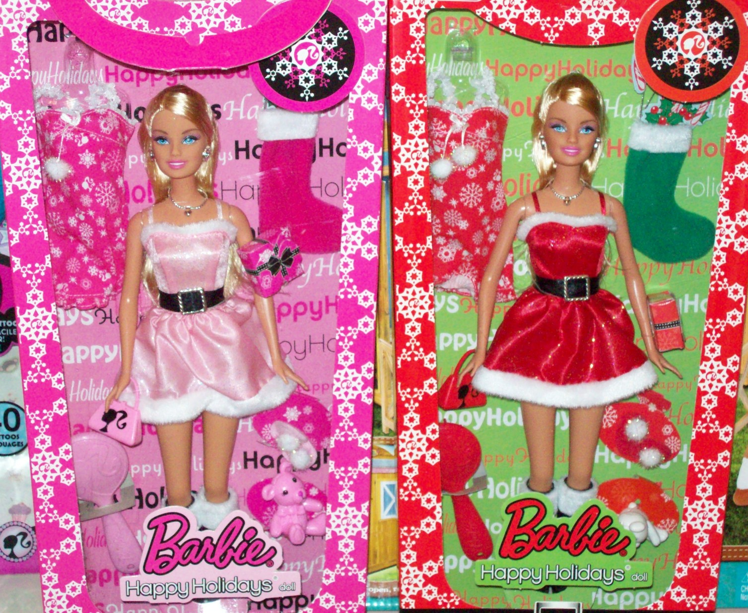 Target Barbie Holiday Exclusives 2009