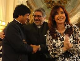 Cristina entregó la demarcación final del límite internacional entre Bolivia y Paraguay