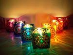 Porta-velas dos Chakras