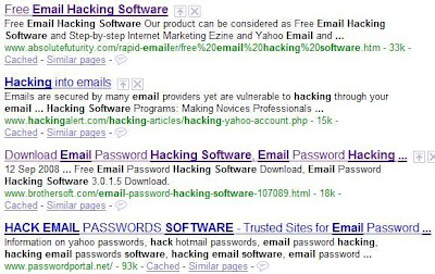 Email hacking software