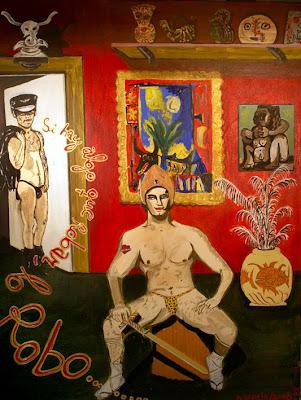 Si hay algo que robar lo robo,  Agustí Garcia Monfort, Bad Painting, Pinturas,