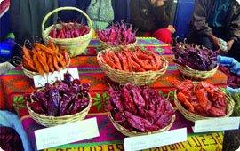Alimentos producidos en Bolivia