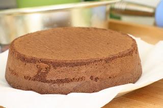Gâteau au chocolat et moule wilton 2
