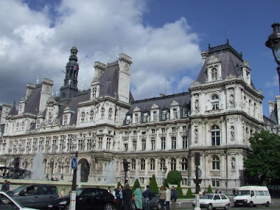 paris city hall. (main Paris City Hall) in