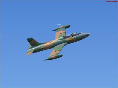 Avião Xavante