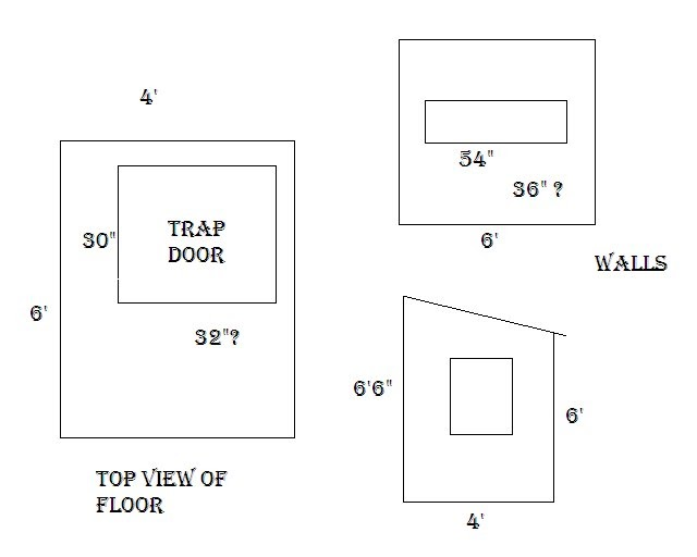 Deer stand plans 4x6 clever woodworking design for 4x6 shooting house plans