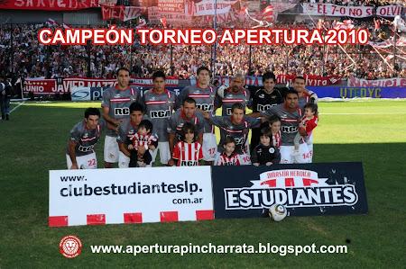 Estudiantes Campeón Torneo Apertura 2010