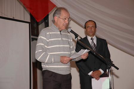 Alejandro Sabella leyendo discurso