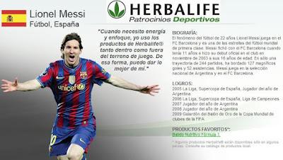... : Herbalife se convierte en el nuevo patrocinador del FC Barcelona