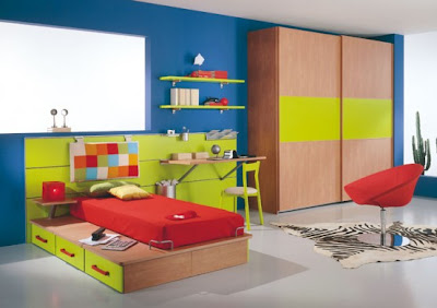 Kids Room Decoration on Modern Kids Room Decor Idea 14 554x391 Jpg