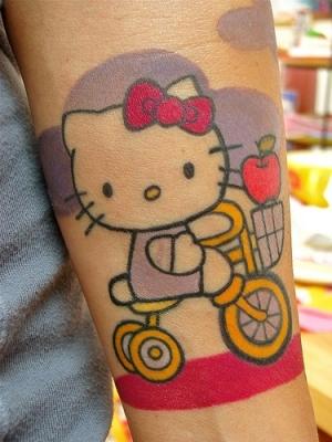 Sweet Tattoos on Hello Kitty Sweet Tattoo Designs   Fashion Streem