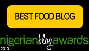 Best Food Blog 2010