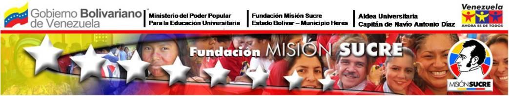 ALDEA UNIVERSITARIA CAPITAN DE NAVÍO ANTONIO DIAZ NOCTURNO MISIÓN SUCRE