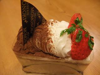 Patisserie MOMONOKI (ももの木)桃坂店のいちごのショートケーキ