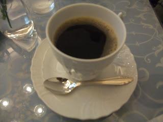 五感北浜本館のホットコーヒー