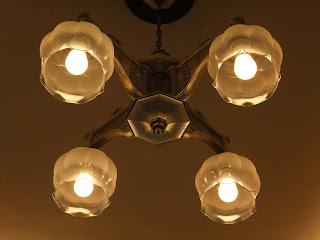 五感北浜本館の照明