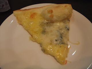 ゴルゴンゾーラと蜂蜜のピザ