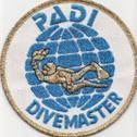 PADI Divemaster emblem