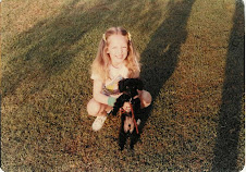 And Peppy, my first poodle