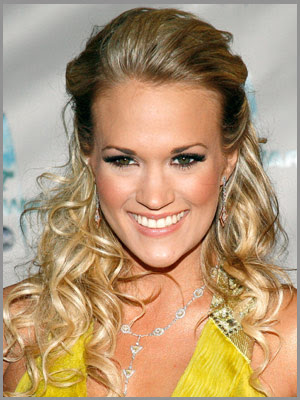 carrie underwood hairstyles. Carrie+underwood+hairstyles+half+updos Hair a suits carrie ddcarrie Curly half-updo the newest half-up-half-down hairstyle for prom hairstyles updo
