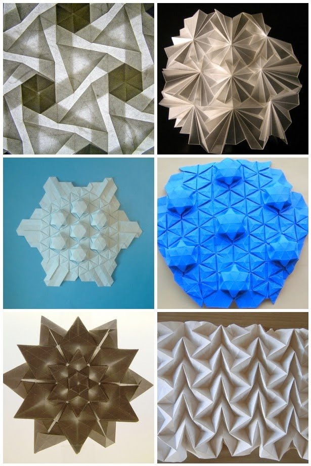 Good Things Flickr Finds Origami Tessellations