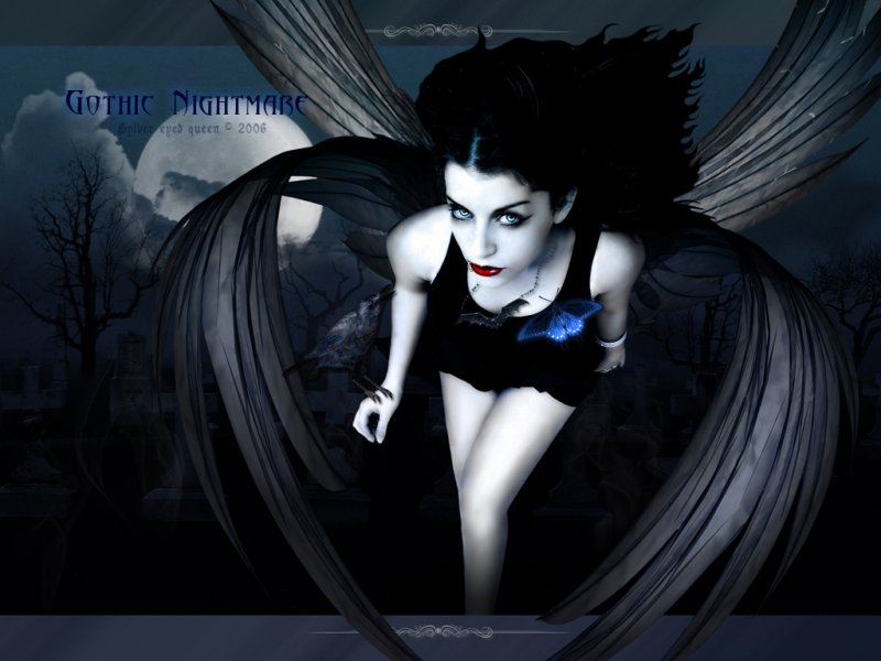 gothic desktop wallpaper. Scary Gothic Desktop