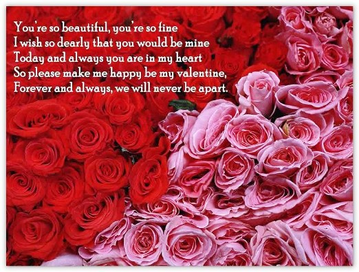 English Valentine's Day Quotes, Love Messages Valentine's Day Greeting Cards