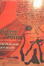6to. Festival mundial de Poesía