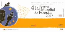 4to. Festival Mundial de Poesía