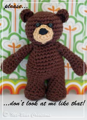 amigurumi, bear, crochet, softie, mini, haken, gehaakt, homemade, diy, zelfgemaakt, knuffel, beer