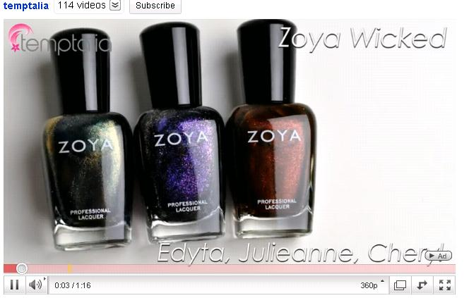 Zoya Nail Polish Blog: 8/8/10 - 8/15/10