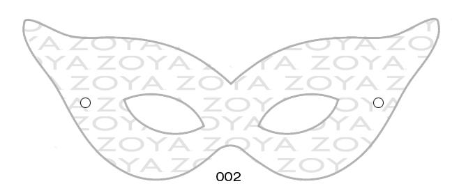 Карнавальные новогодние маски своими руками