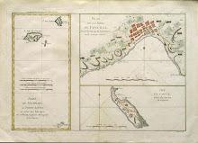 I. De Madere. Plan De La Rade De Funchal & Isle De Goree
