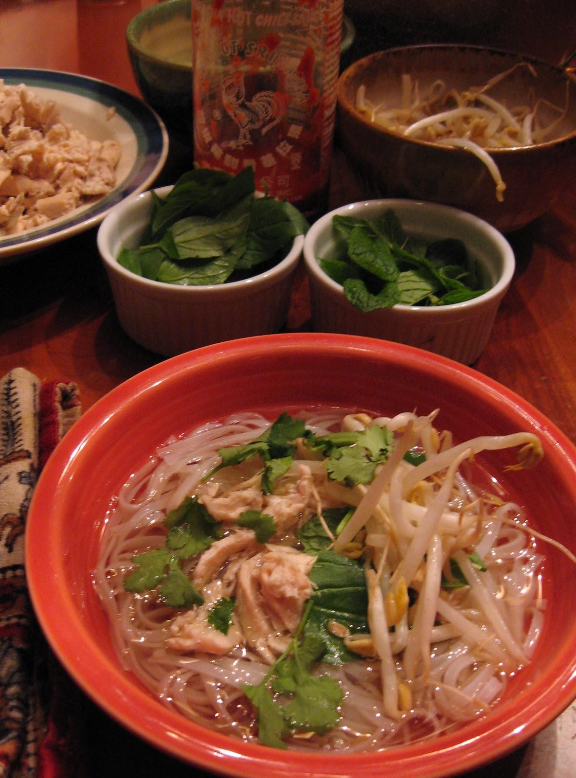 Pho Ga: Vietnamese Chicken Noodle Soup | Soupy Sundays