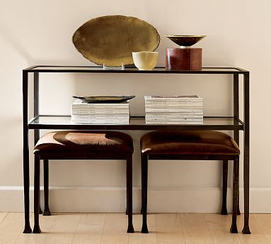 Bon I Ordered The Target Knock Off Of The PB Tanner Console Table For Our  Dining Room U2013 The View Of The Back Of Our Couch From The Dining Room Table  Has Been ...